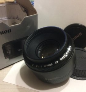 Canon 50mm 1.8 Новый!