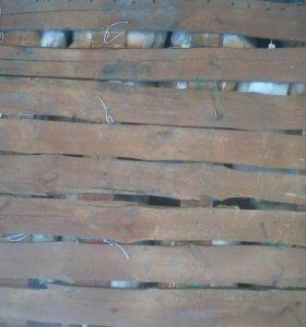 Деревянный  плот