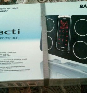 Цифровой диктофон Sanyo ICR-XPS01MF