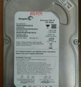 Жесткий диск для ПК 250 гб