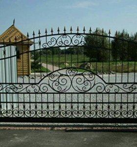 Ворота, заборы, перила.