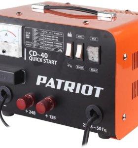 Пуско-зарядное устройство PATRIOT Quik start CD-40