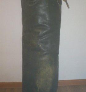 Мешок боксёрский, (95 см.), натуральная кожа