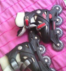 Ролики раздвижные с гелевыми колёсами