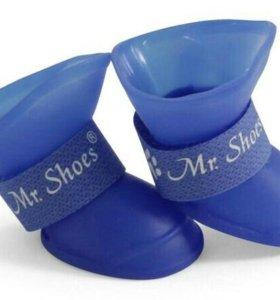 Резиновая обувь для собак