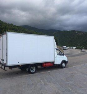 Грузоперевозки изотермический фургон 18 кубов
