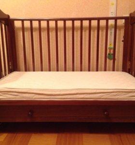 Кроватка + мягкий бортик Choupette