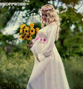 Платье для беременной на фотосессию