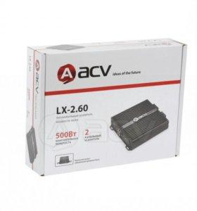 2 канальный усилитель ACV LX-2.60