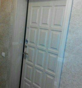 Установка сейф-дверей.