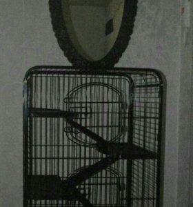 Клетка для грызунов ( шиншил)