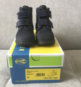 Ботинки для мальчика 22 размер