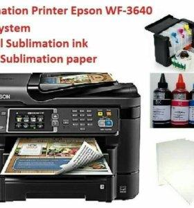 Полный набор для сублимационной печати