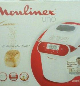 Хлебопеч Moulinex Uno новая