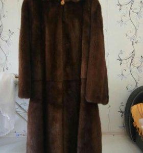 Норковая шуба, Греция,46 размер