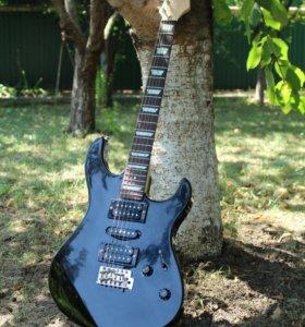 Гитара Yamaha ERG-121 и комбик NUX Frontline 15
