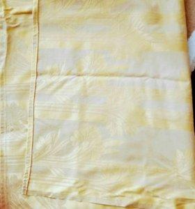 Обрез ткани типа шторы.