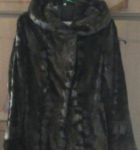 Шуба женская норковая стриженная