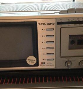 Радио, телевизор и магнитофон t.t.s. 3013 япония