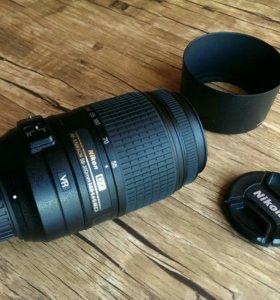 Объектив Nikon 55-300 4,5-5,6 VR AF-S Nikkor