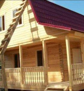 Строительство домов ,бань под ключ