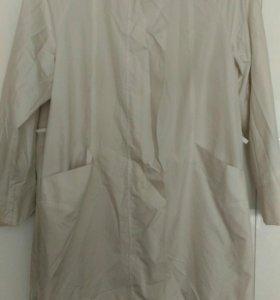 Куртка ветровка удлиненная