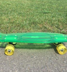 Скейт мини круизер Пластборд (57.2 см)