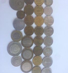 Различные монеты