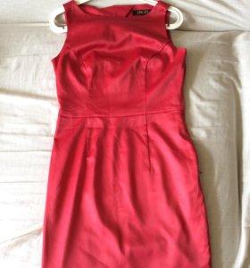 Платье красное коктейльное