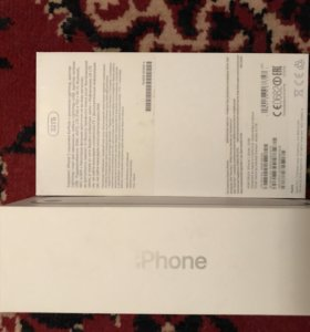 Коробка iPhone 7 silver 32 Gb