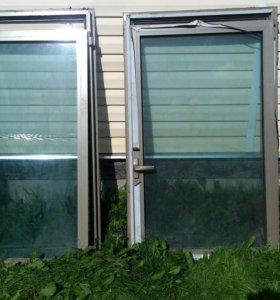 Окна алюминиевые стеклопакеты