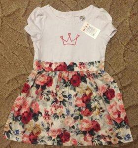 Платье 110 размер
