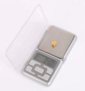 Карманные электронные весы 200гр/0,01