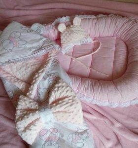 Комплект для новорожденного на выписку.