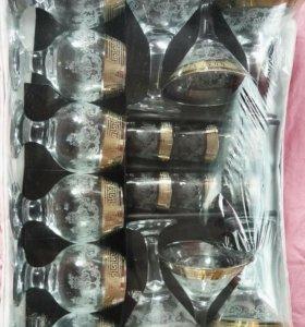 Набор бокалов стеклянных в упаковке