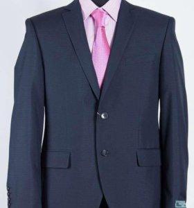 Пиджак школьный фирмы Ван Клиф темно-синий