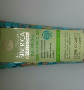 Oblepikha Siberica гель для укладки вьющихся волос