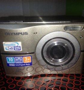 Фотоаппарат на сменных батарейках olympus