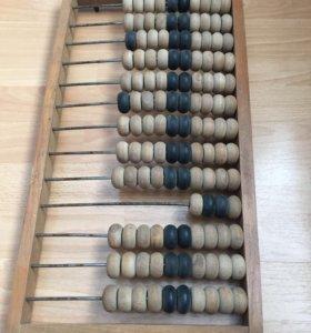 Калькулятор 20-го века счёты