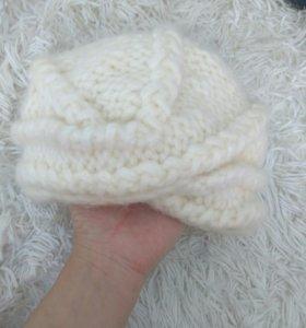 Чалма шапка теплая