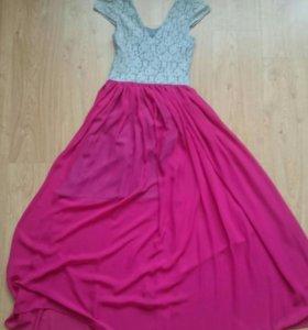 Платье в пол р.40