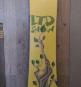 Сноуборд,крепления,комплект