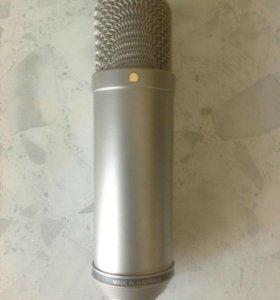 Студийный ламповый микрофон Rode ntv