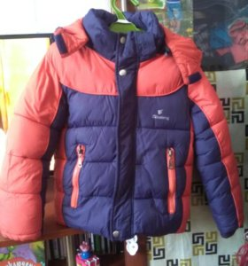 Куртка зимняя 3-4 года