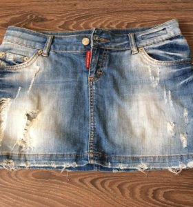 Юбка джинсовая Dsquared2 ☀️