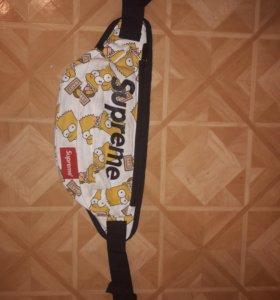 Барсетка(поясная сумка) Supreme Реплика