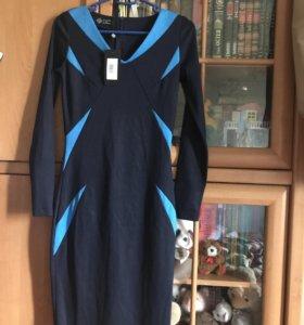 Платье деловое трикотажное IMAGEFOR