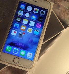 iPhone 6s 16 gb с 3D touch и Touch ID! Gold.