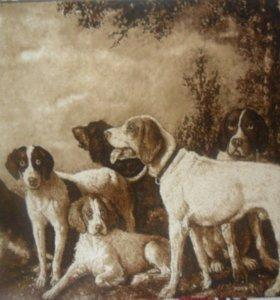 Ковер картина шерстяной  1,40 на 2 м