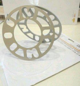 Универсальные колесные проставки-шайбы